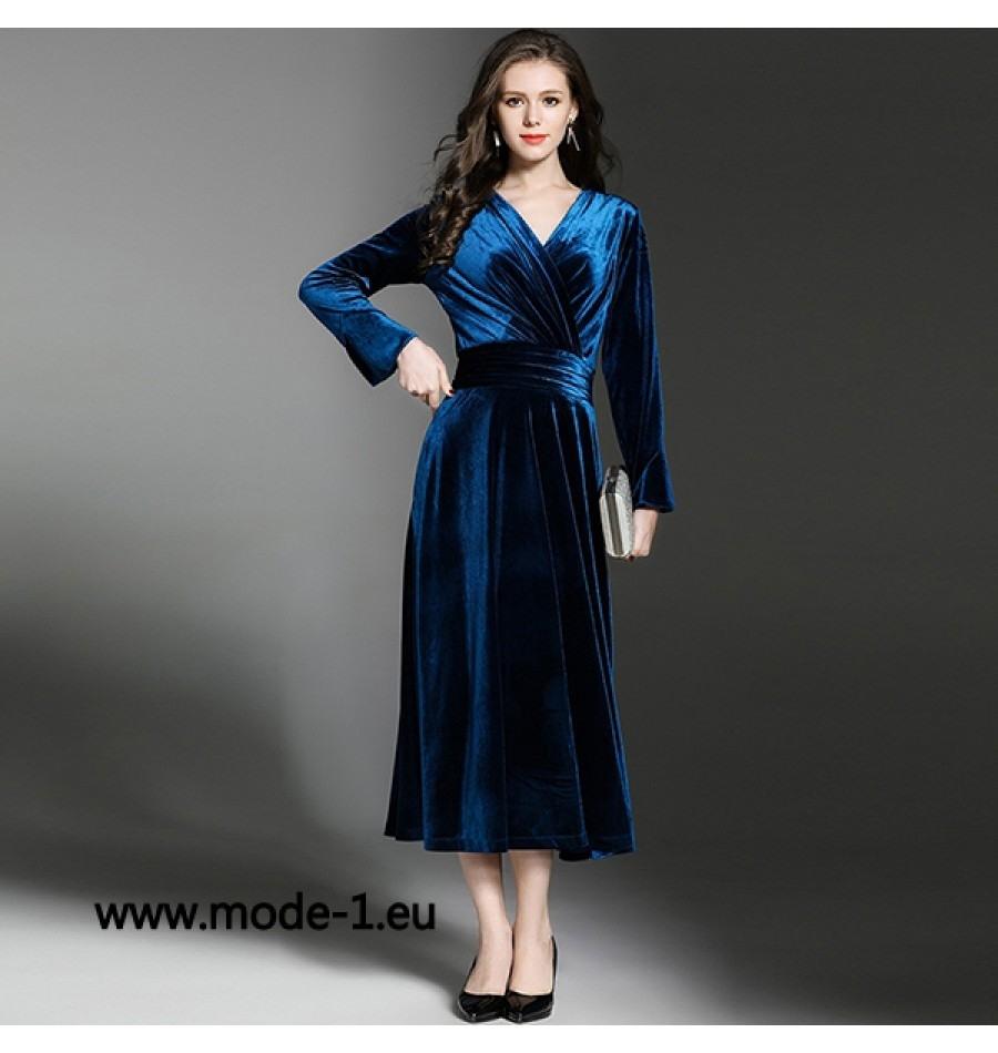 Abend Spektakulär Kleid Wadenlang Design17 Großartig Kleid Wadenlang für 2019