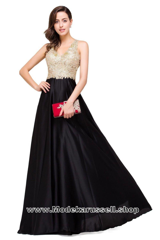 10 Schön Abendkleid Lang Schwarz Gold für 201920 Einfach Abendkleid Lang Schwarz Gold Design