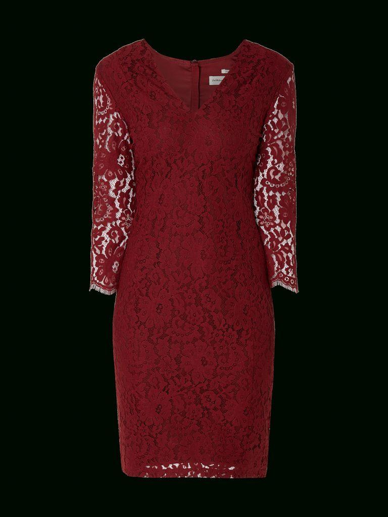 Designer Großartig Kleid Spitze Bordeaux Boutique - Abendkleid