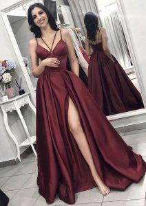 13 Coolste Satin Abendkleid für 2019Formal Ausgezeichnet Satin Abendkleid Bester Preis
