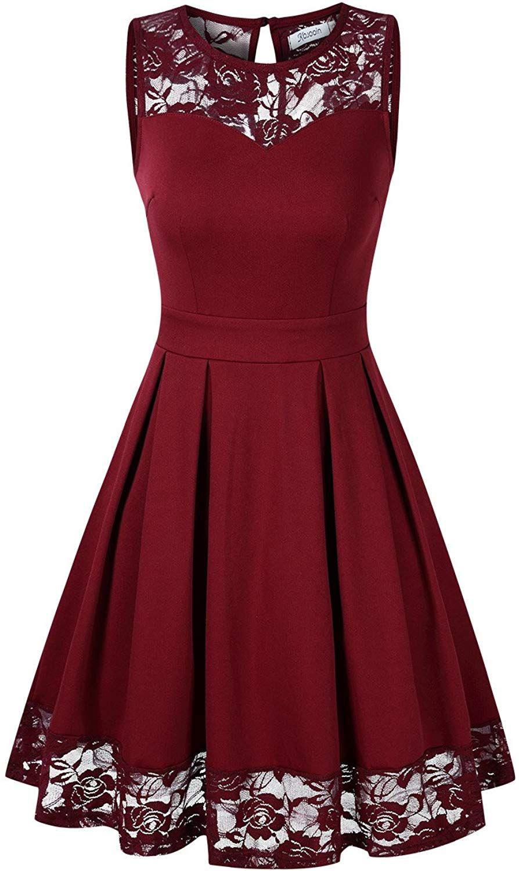 20 Erstaunlich Rote Kleider Knielang Stylish13 Schön Rote Kleider Knielang für 2019