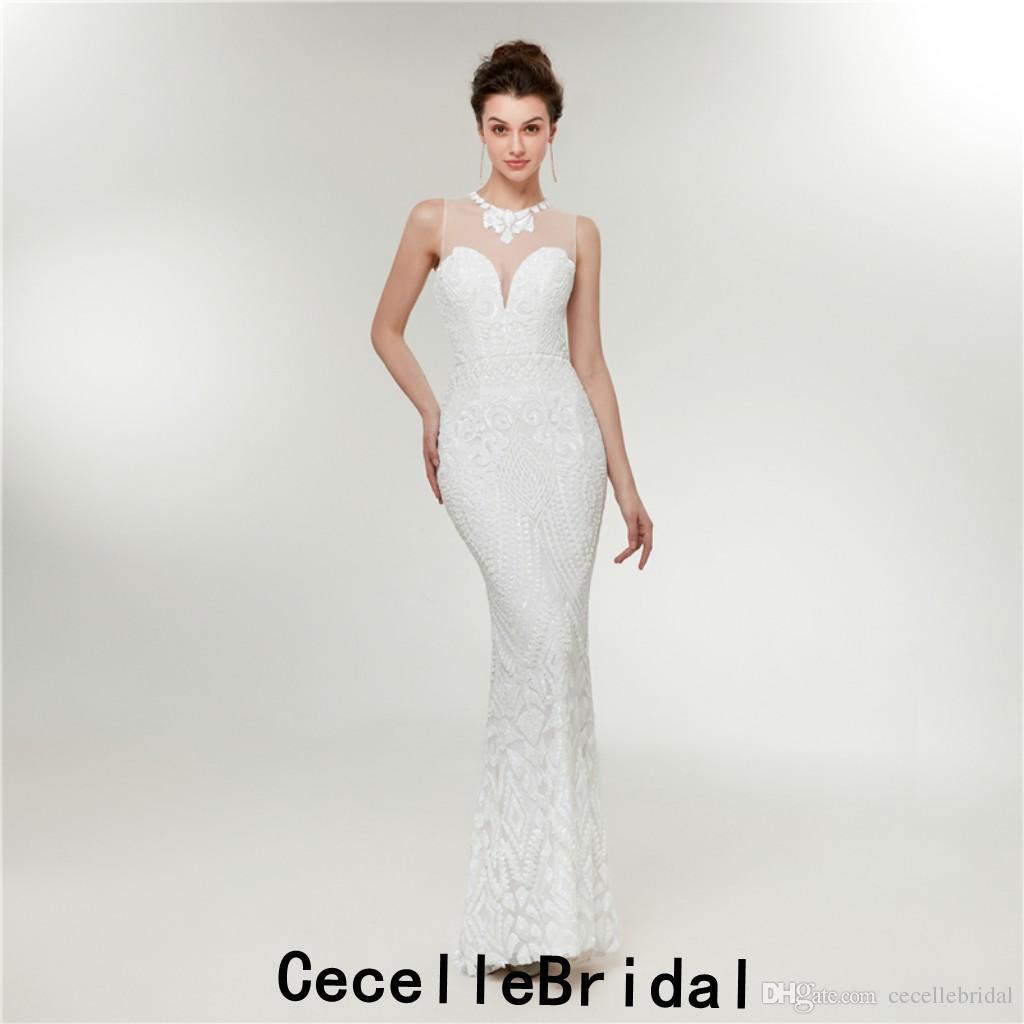 Abend Spektakulär Weiße Abendkleider Lang Vertrieb20 Kreativ Weiße Abendkleider Lang Vertrieb