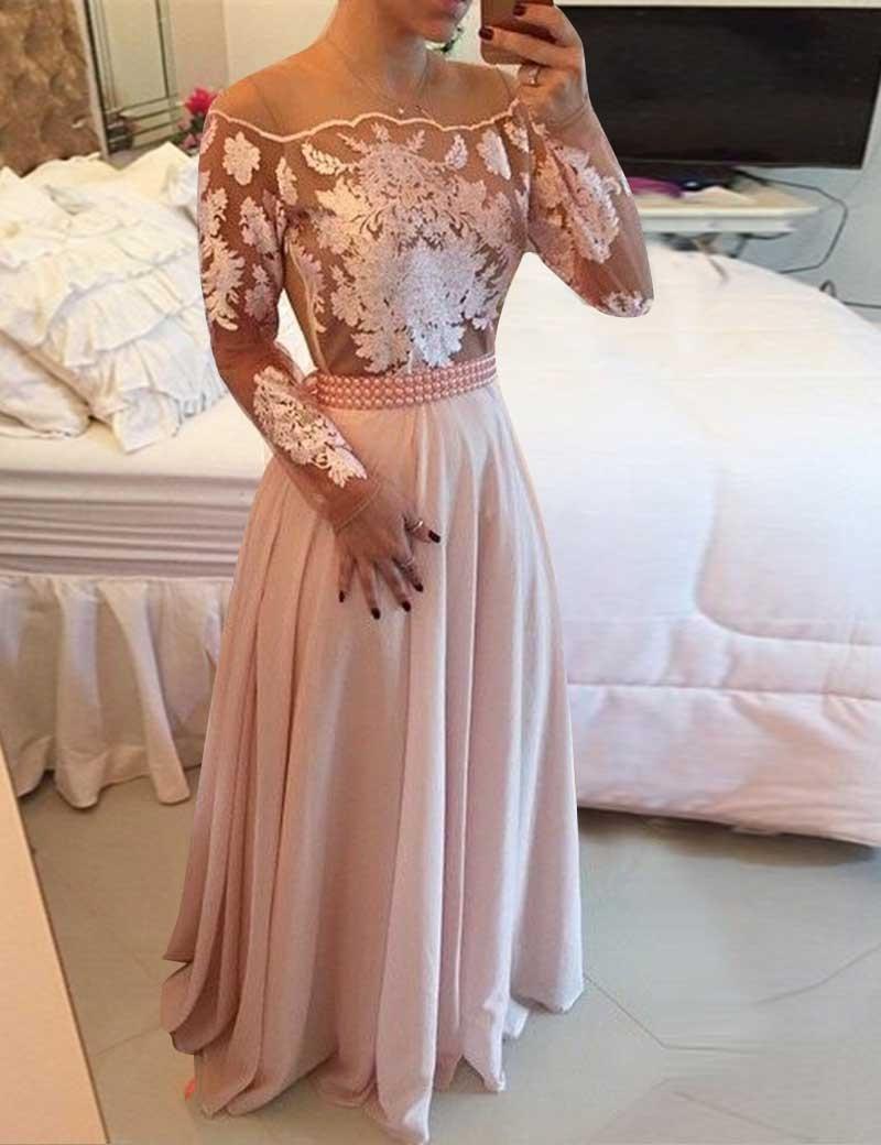 17 Einfach Abendkleid Lang Mit Ärmel StylishDesigner Cool Abendkleid Lang Mit Ärmel Design