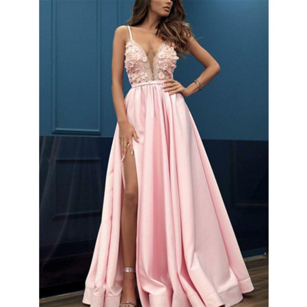 15 Einzigartig Abendkleider Lang Pink DesignAbend Fantastisch Abendkleider Lang Pink Bester Preis