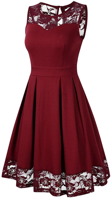 Designer Schön Rote Kleider Knielang Bester Preis - Abendkleid
