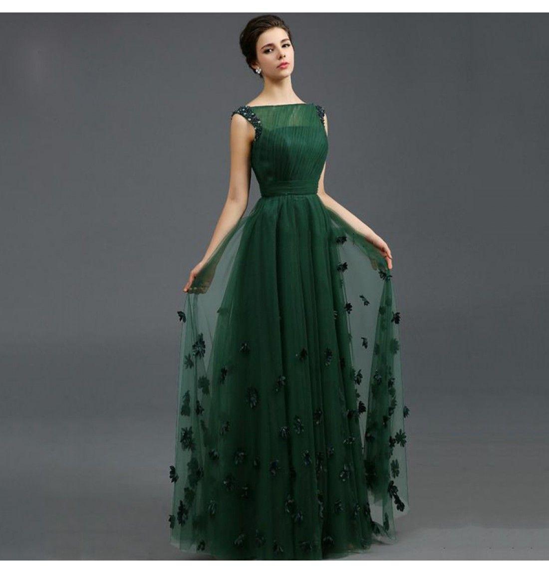 Spektakulär Grünes Kleid A Linie Spezialgebiet15 Cool Grünes Kleid A Linie Ärmel