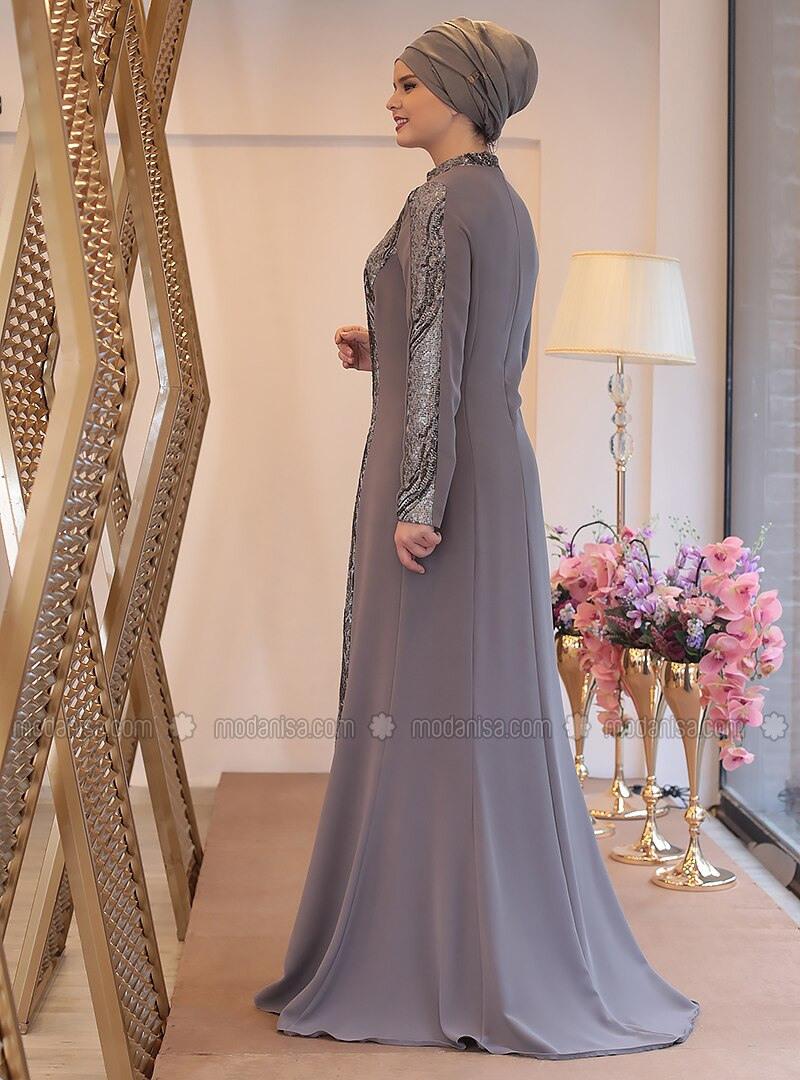 Erstaunlich Abendkleid Grau für 201910 Kreativ Abendkleid Grau Galerie