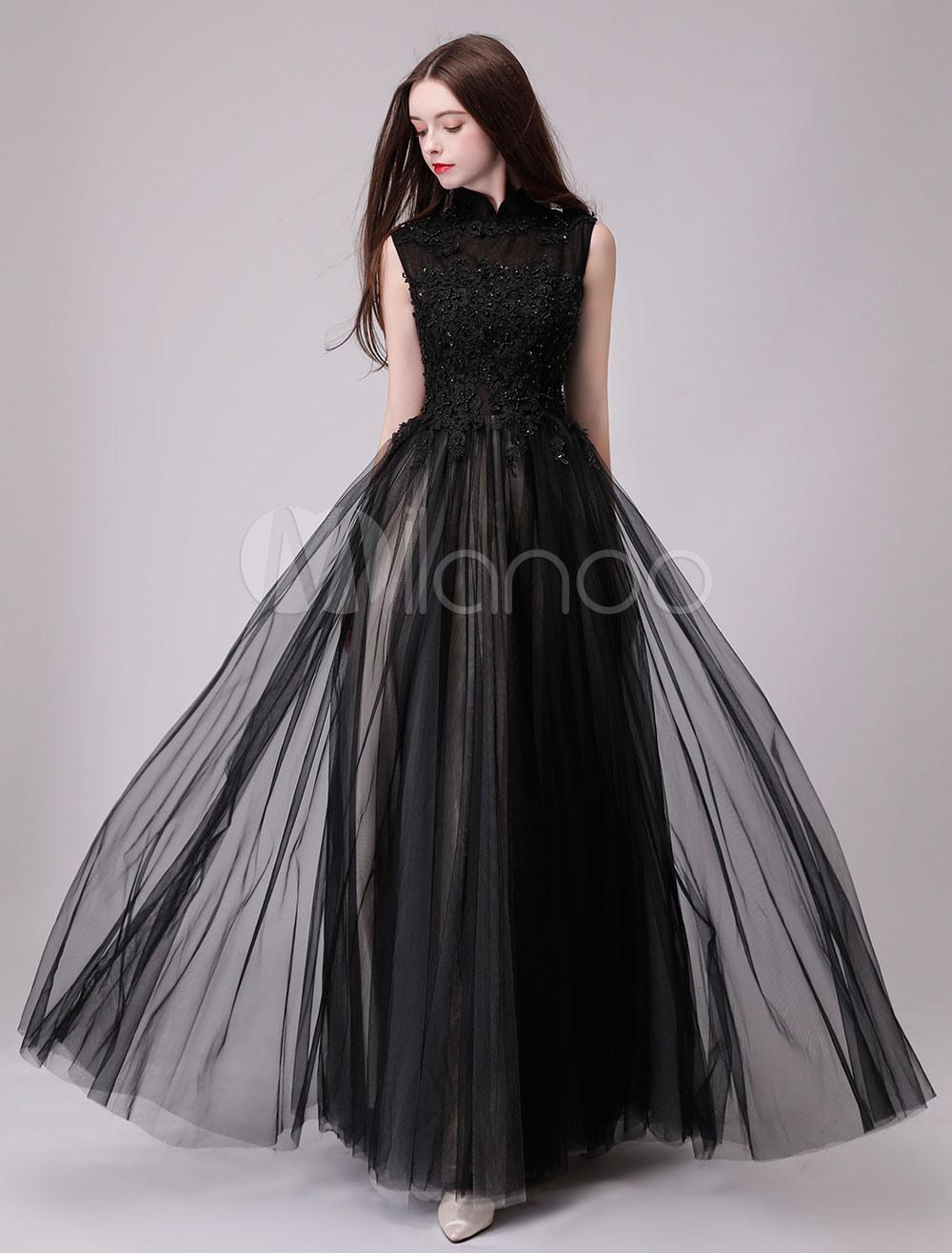 10 Luxus Langes Schwarzes Abendkleid GalerieAbend Schön Langes Schwarzes Abendkleid Spezialgebiet