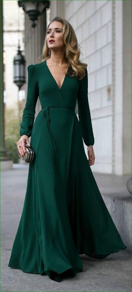 Formal Erstaunlich Elegantes Grünes Kleid Stylish - Abendkleid