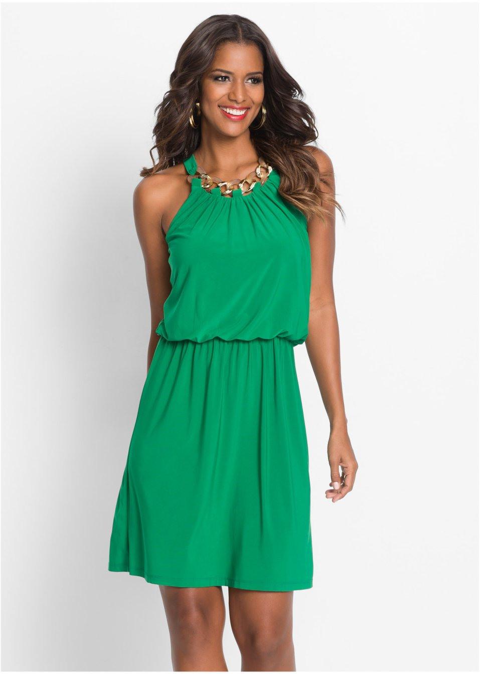 Kleid Kurz Grün