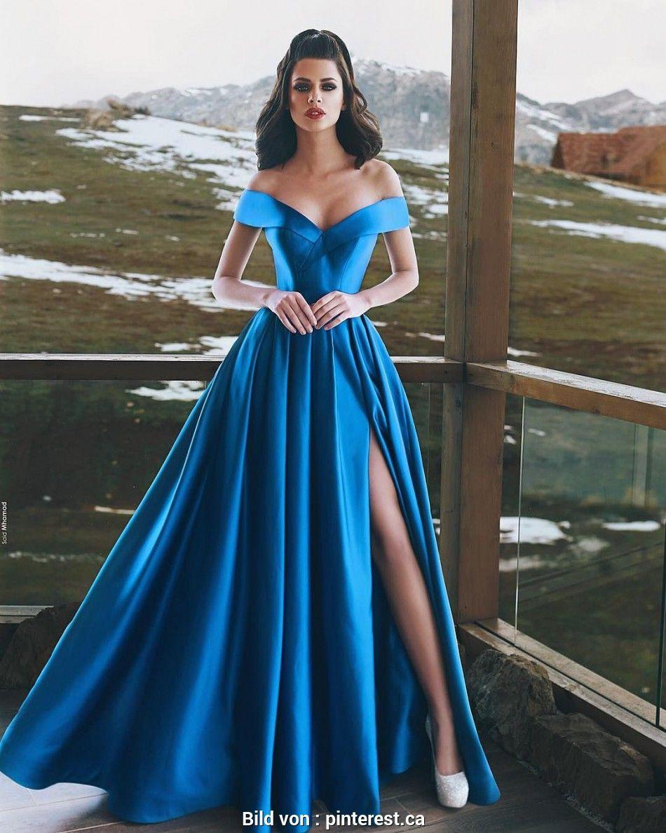 13 Erstaunlich Blaue Abend Kleider Ärmel Genial Blaue Abend Kleider für 2019