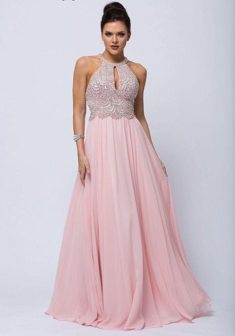 Formal Luxus Abendkleid Pastell Stylish - Abendkleid