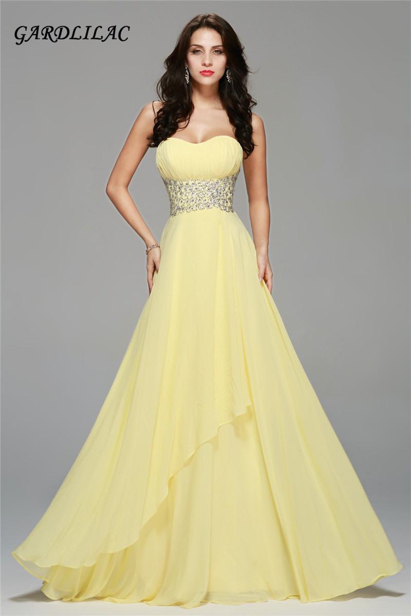 17 Einfach Abendkleid Gelb für 201920 Fantastisch Abendkleid Gelb Vertrieb