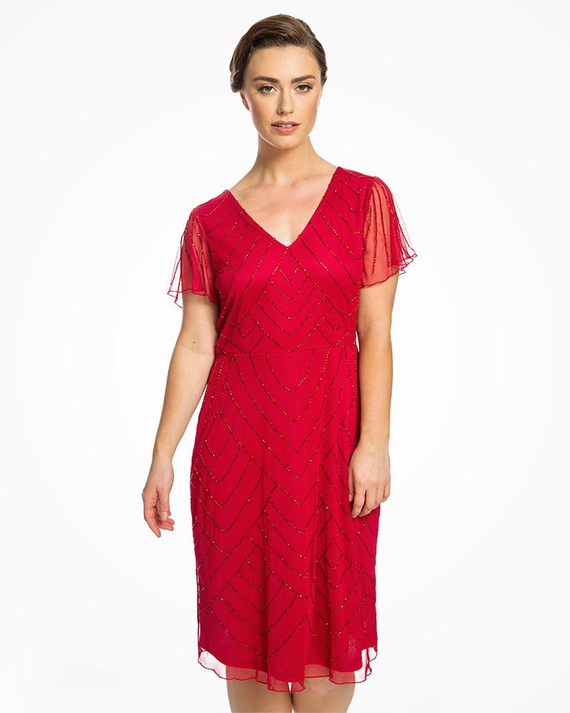 15 Schön Dunkelrotes Abendkleid Galerie Schön Dunkelrotes Abendkleid für 2019