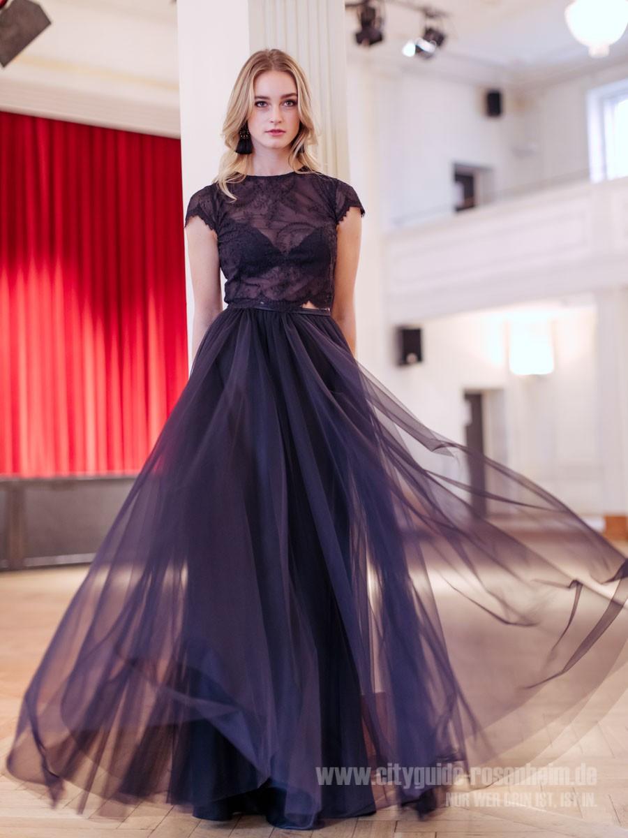 12 Coolste Abendkleid Dunkelblau Lang Vertrieb - Abendkleid