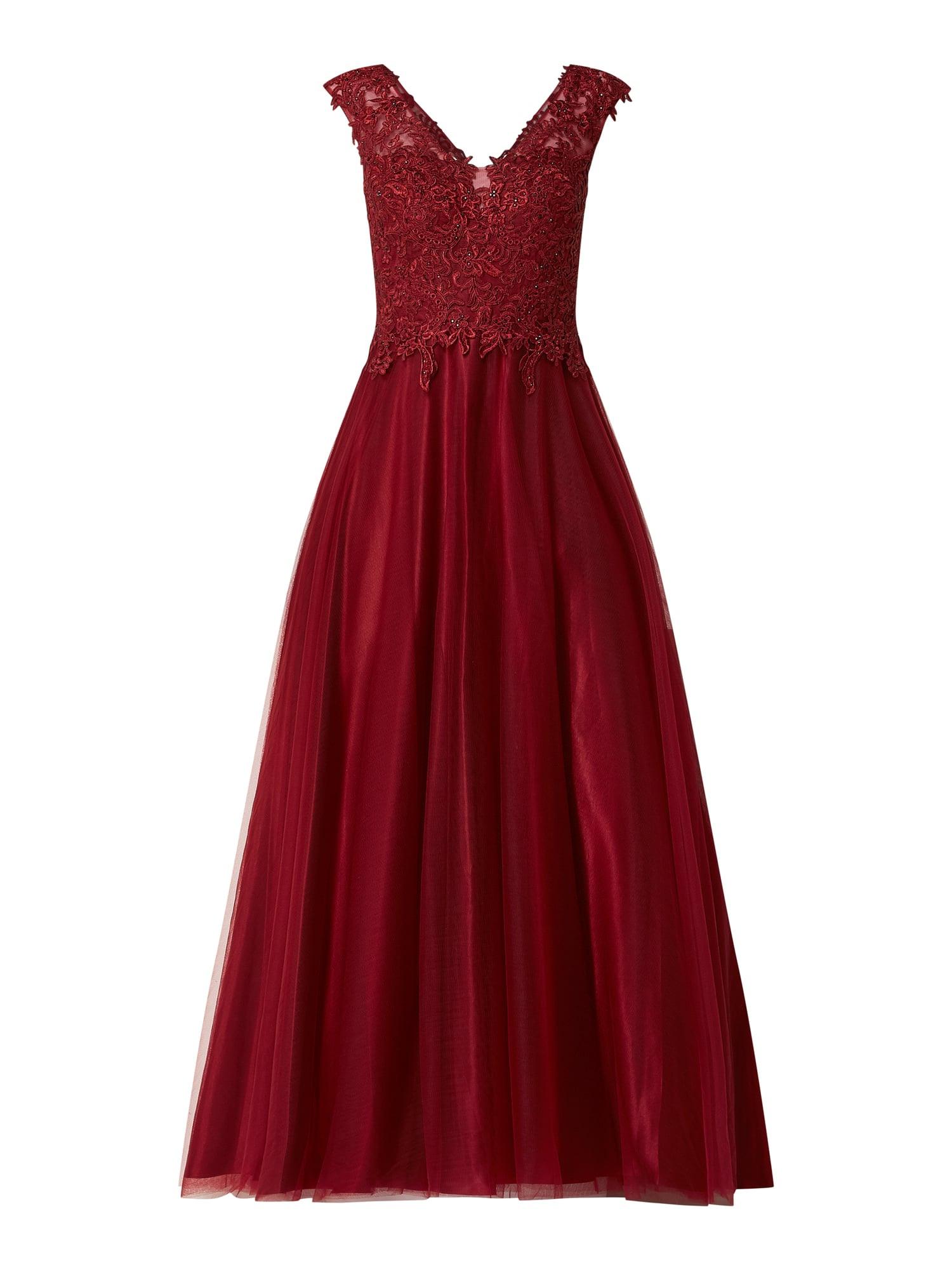 Abend Luxus Vera Mont Abendkleid Rot Bester Preis17 Großartig Vera Mont Abendkleid Rot Vertrieb