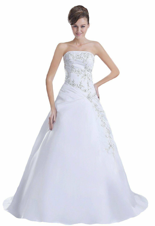 Formal Spektakulär Ballkleid Weiß Lang Stylish - Abendkleid