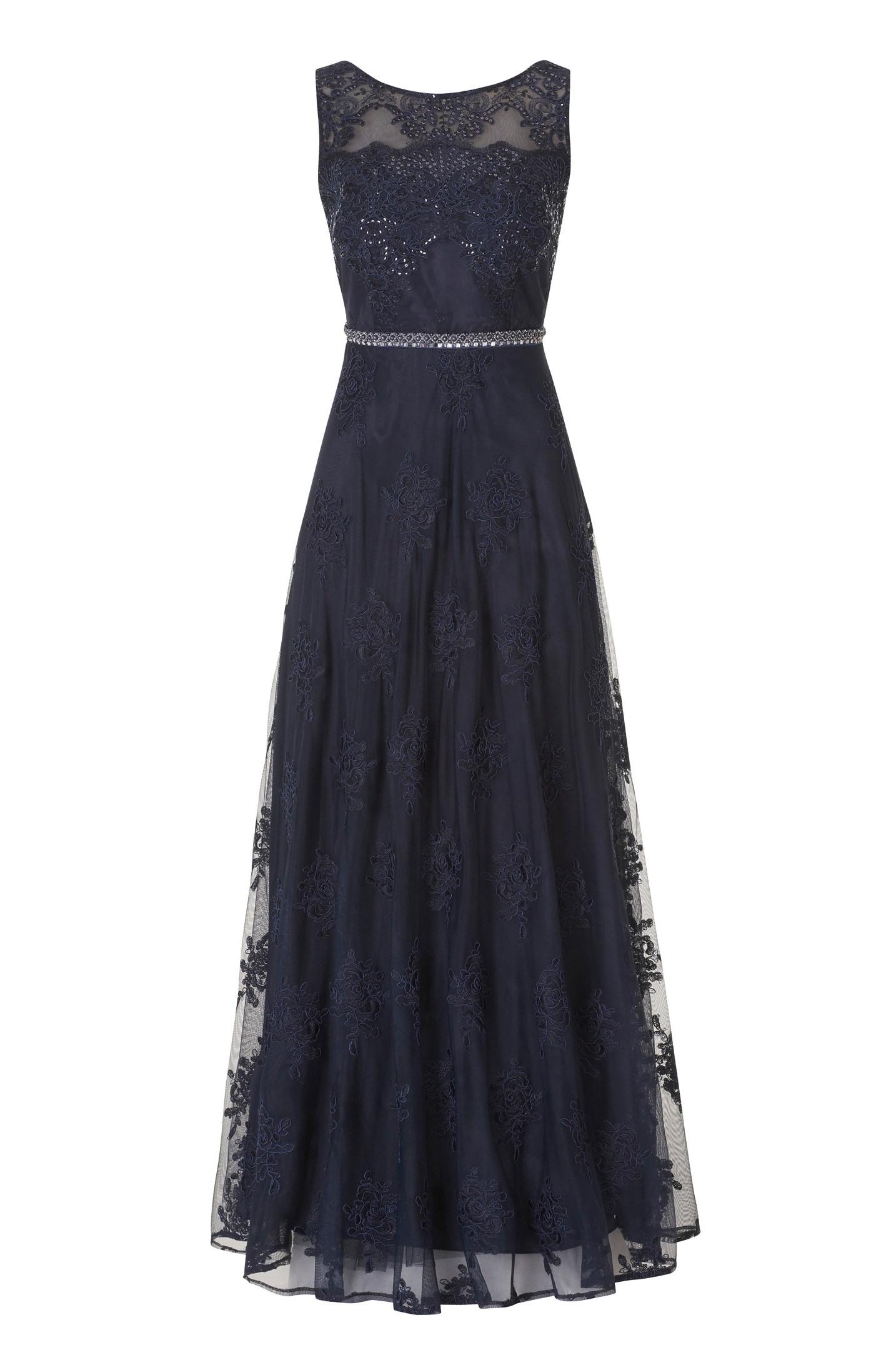 17 Einzigartig Abend Kleid Dunkel Blau DesignAbend Schön Abend Kleid Dunkel Blau Ärmel