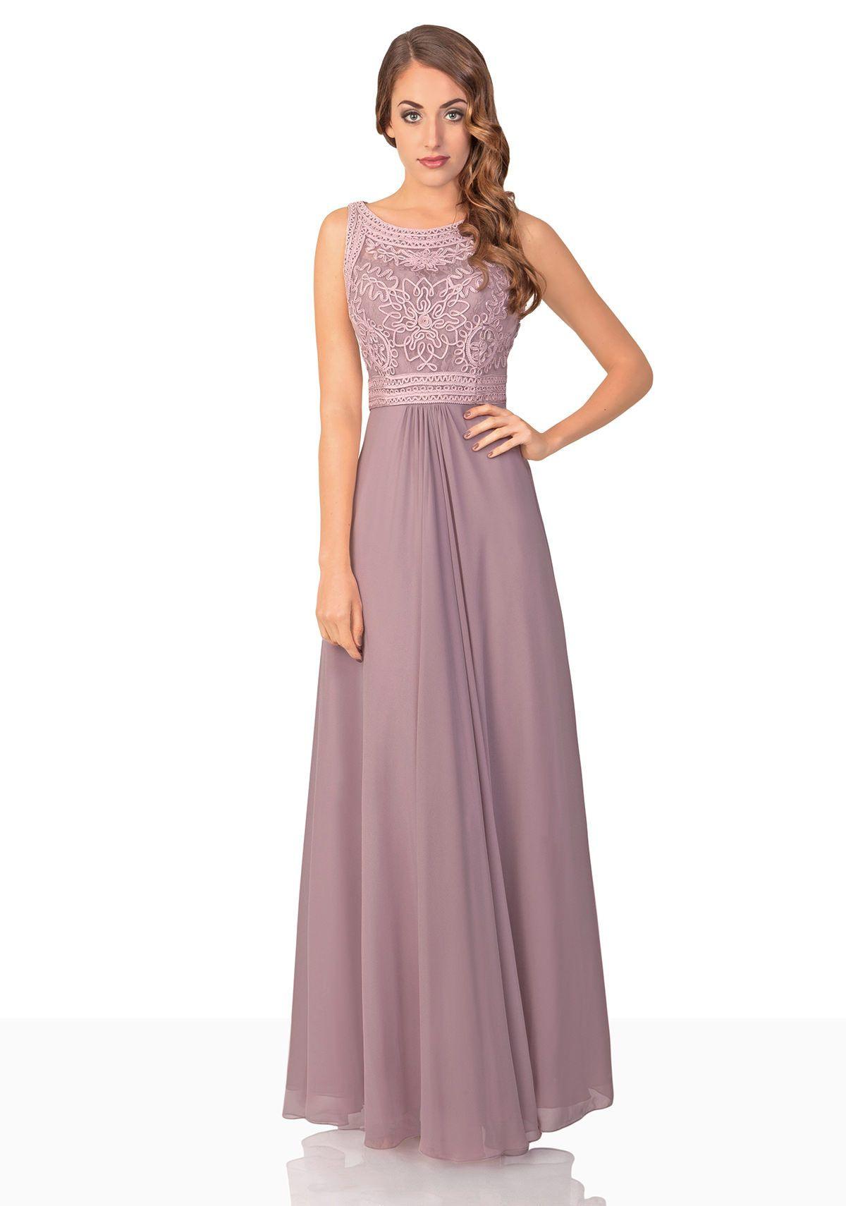 Erstaunlich Altrosa Kleid Lang Galerie13 Schön Altrosa Kleid Lang Vertrieb