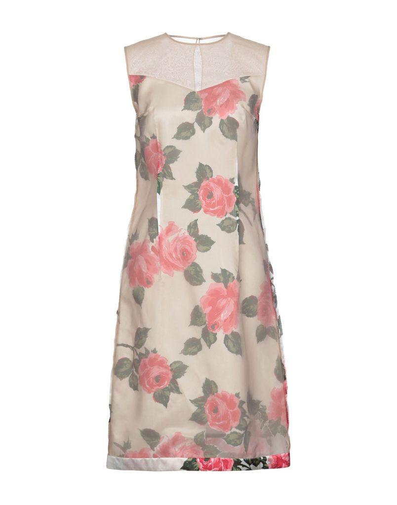 Kreativ Abendkleid Yoox Boutique - Abendkleid