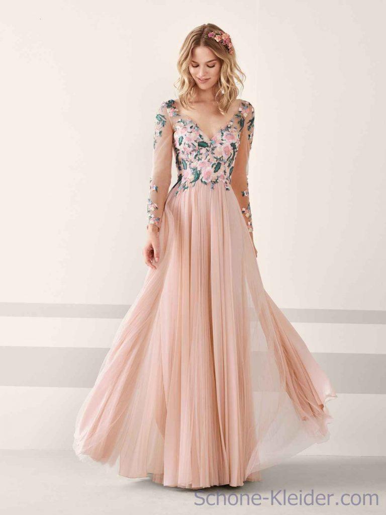 Luxurius Otto Damen Abend Kleider Ärmel - Abendkleid