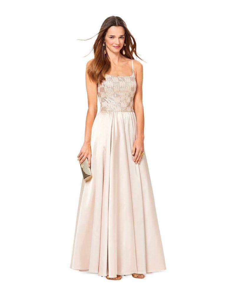 Luxus Abendkleid Selber Nähen Design - Abendkleid