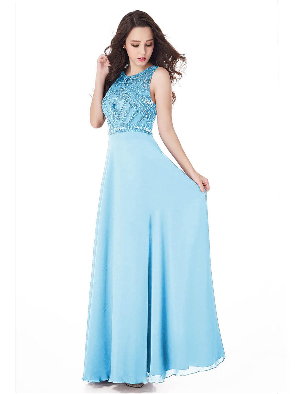 Formal Genial Abendkleid Hellblau Design Perfekt Abendkleid Hellblau Vertrieb