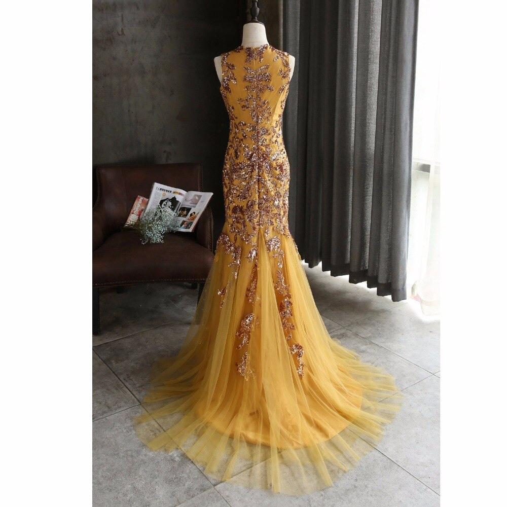 Erstaunlich Abendkleider Gold für 201913 Top Abendkleider Gold Design