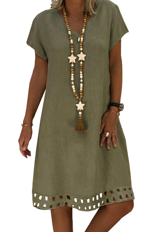 10 Elegant Grünes Kleid A Linie Bester Preis10 Schön Grünes Kleid A Linie Vertrieb