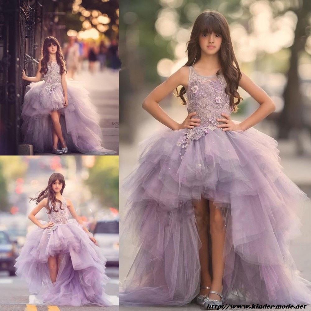 Schön Mädchen Abendkleid Stylish - Abendkleid