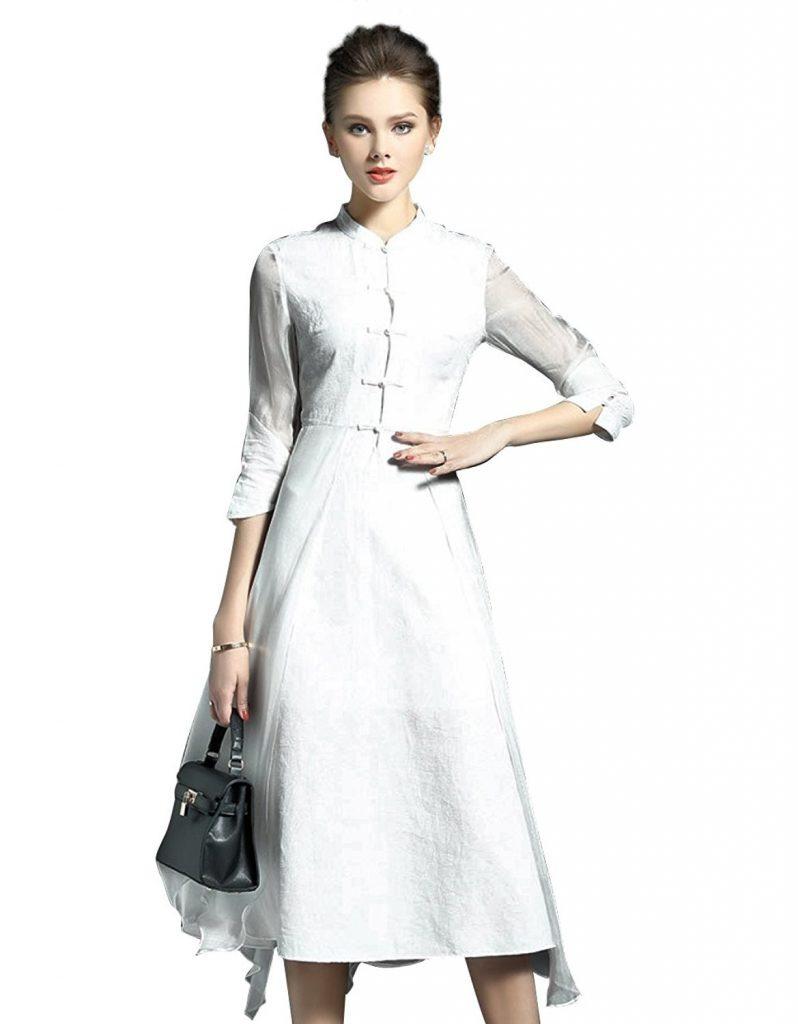 15 Genial Elegante Damen Kleider Wadenlang Stylish20 Schön Elegante Damen Kleider Wadenlang Vertrieb