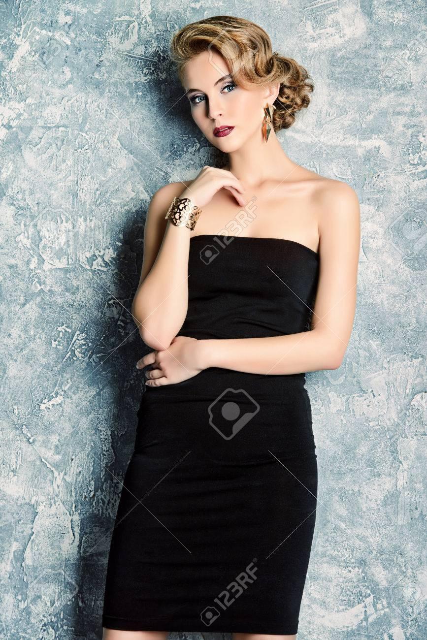 Einzigartig Abend Make Up Schwarzes Kleid für 201920 Einfach Abend Make Up Schwarzes Kleid Bester Preis