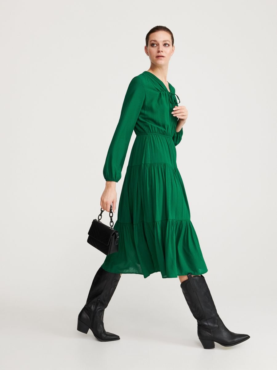 Schön Kleid Grün Spezialgebiet20 Elegant Kleid Grün Stylish