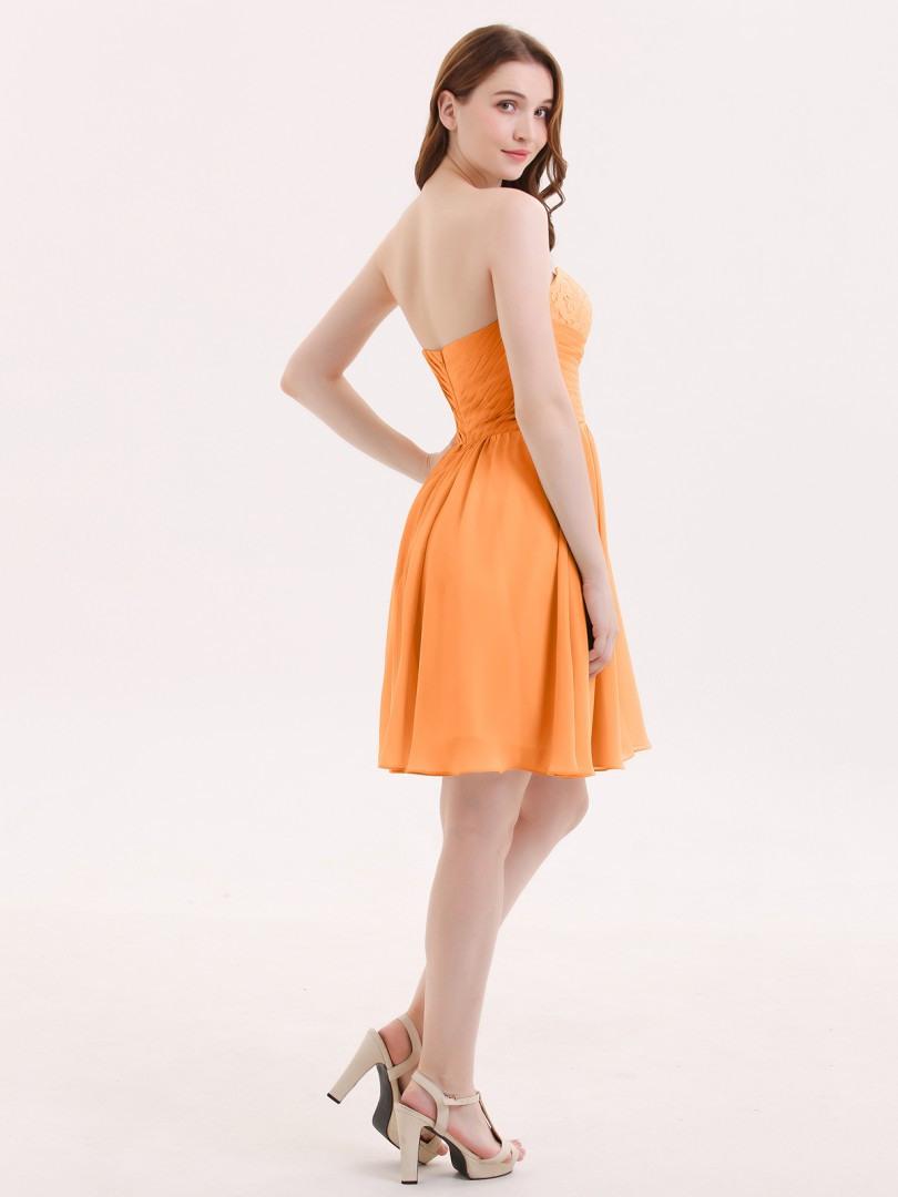 10 Elegant Kleid Orange Kurz Bester Preis Spektakulär Kleid Orange Kurz Bester Preis