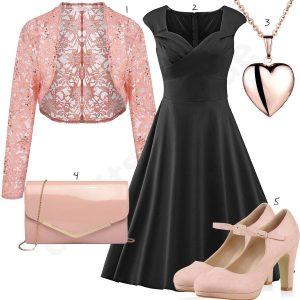15 Wunderbar Rosa Schwarzes Kleid für 201910 Erstaunlich Rosa Schwarzes Kleid Vertrieb