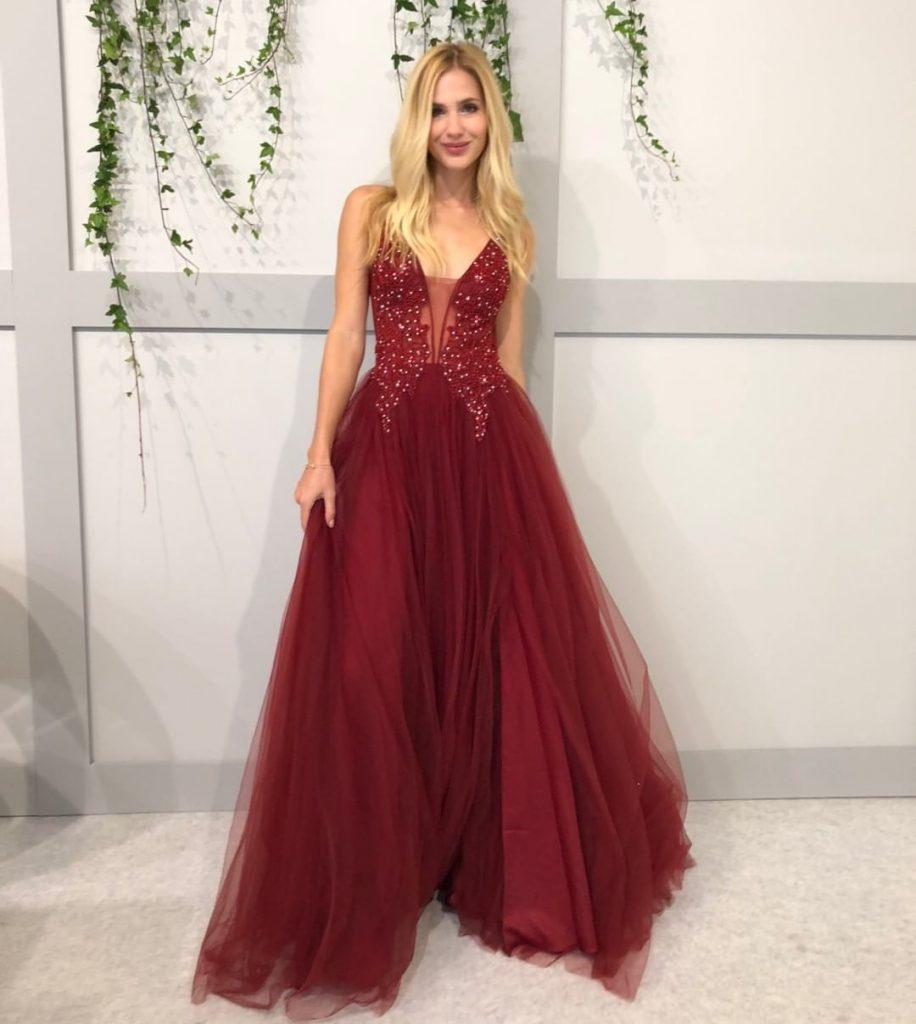 10 Einzigartig Abend Kleid Lang Rot für 2019 - Abendkleid
