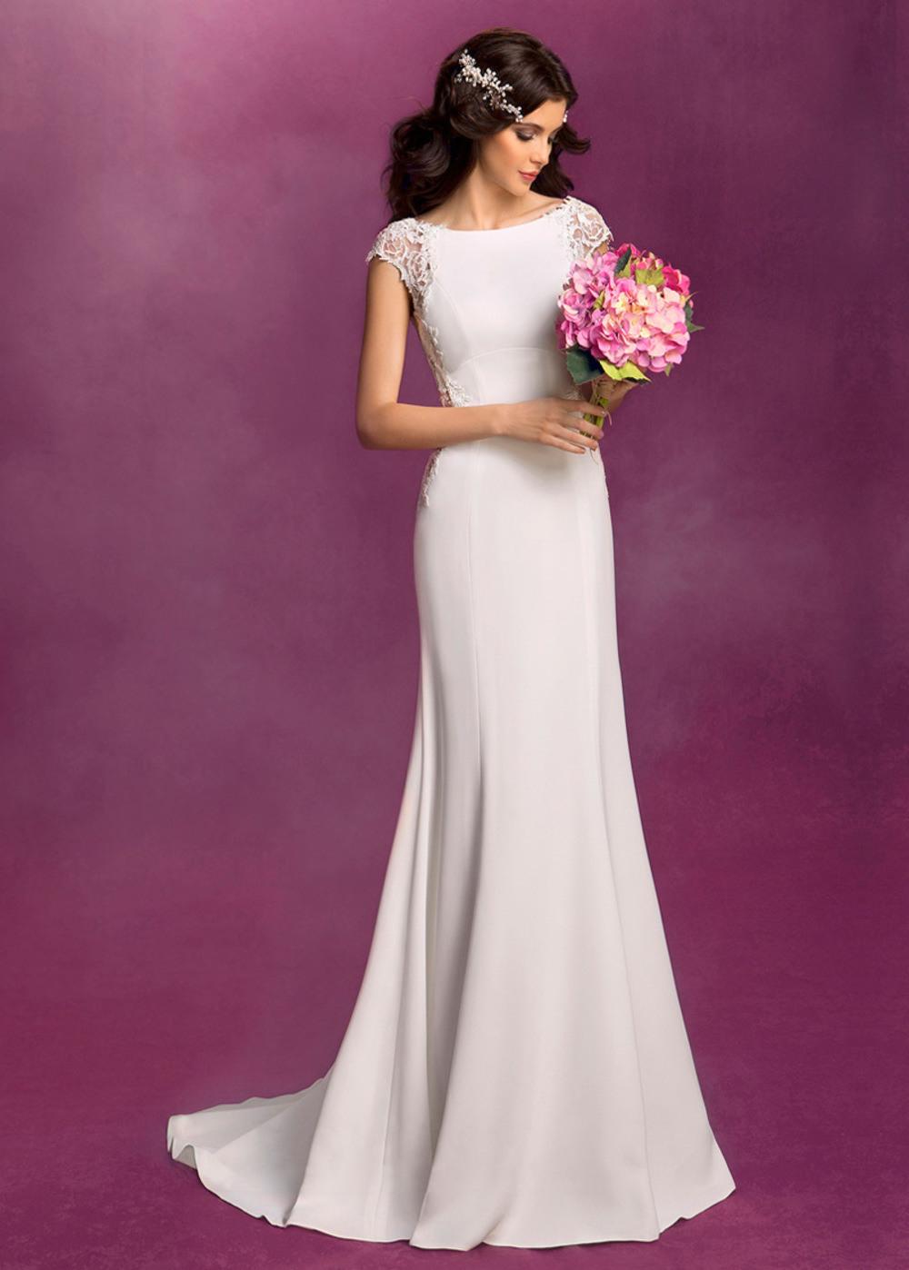 Formal Erstaunlich Elegante Brautkleider Ärmel17 Top Elegante Brautkleider Ärmel