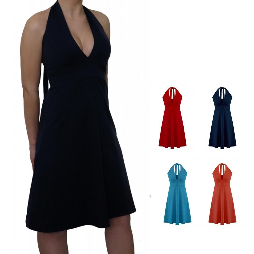13 Leicht Neckholder Kleid Stylish15 Luxus Neckholder Kleid Design