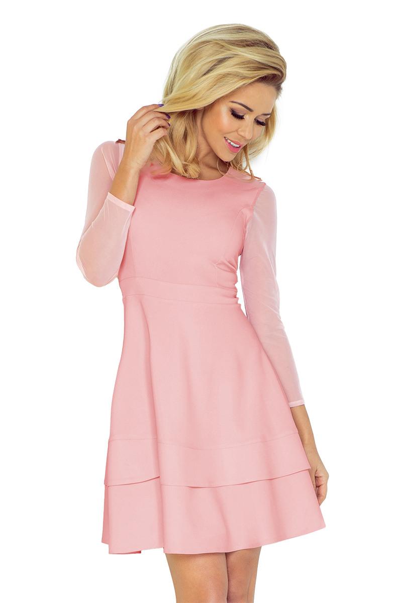 Ausgezeichnet Rosa Kleid Mit Ärmeln für 201915 Schön Rosa Kleid Mit Ärmeln Galerie
