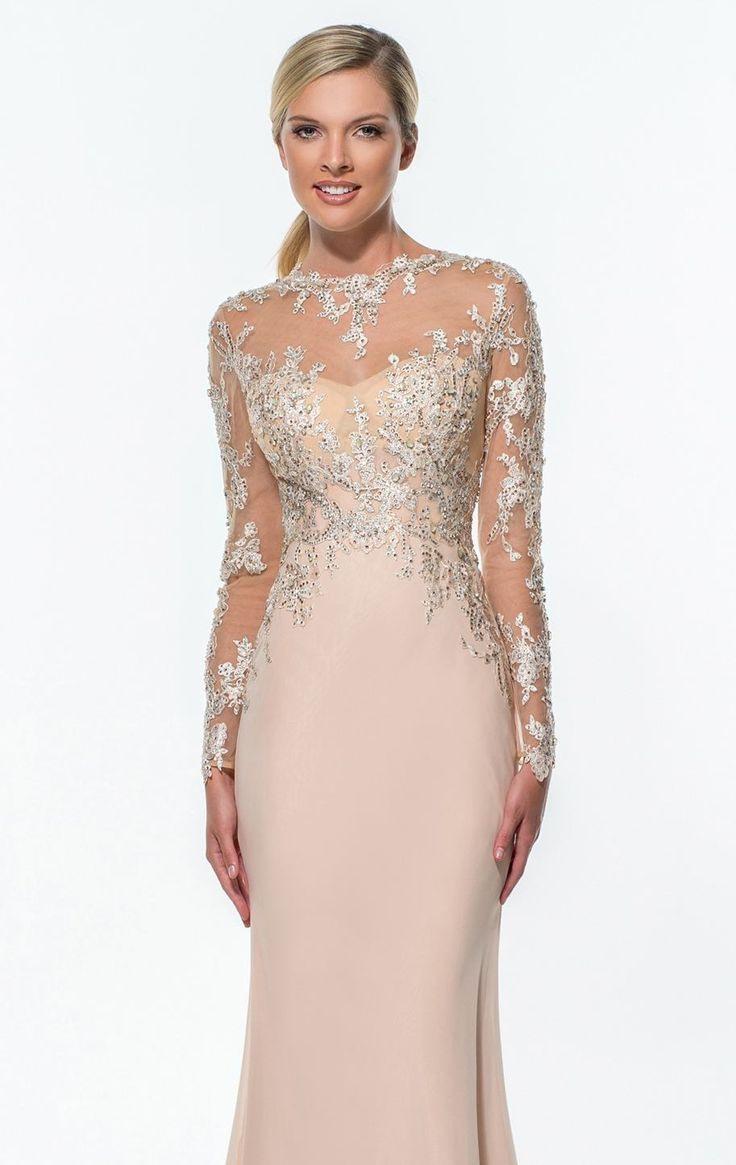 Designer Schön Terani Couture Abendkleid Ärmel10 Leicht Terani Couture Abendkleid Vertrieb