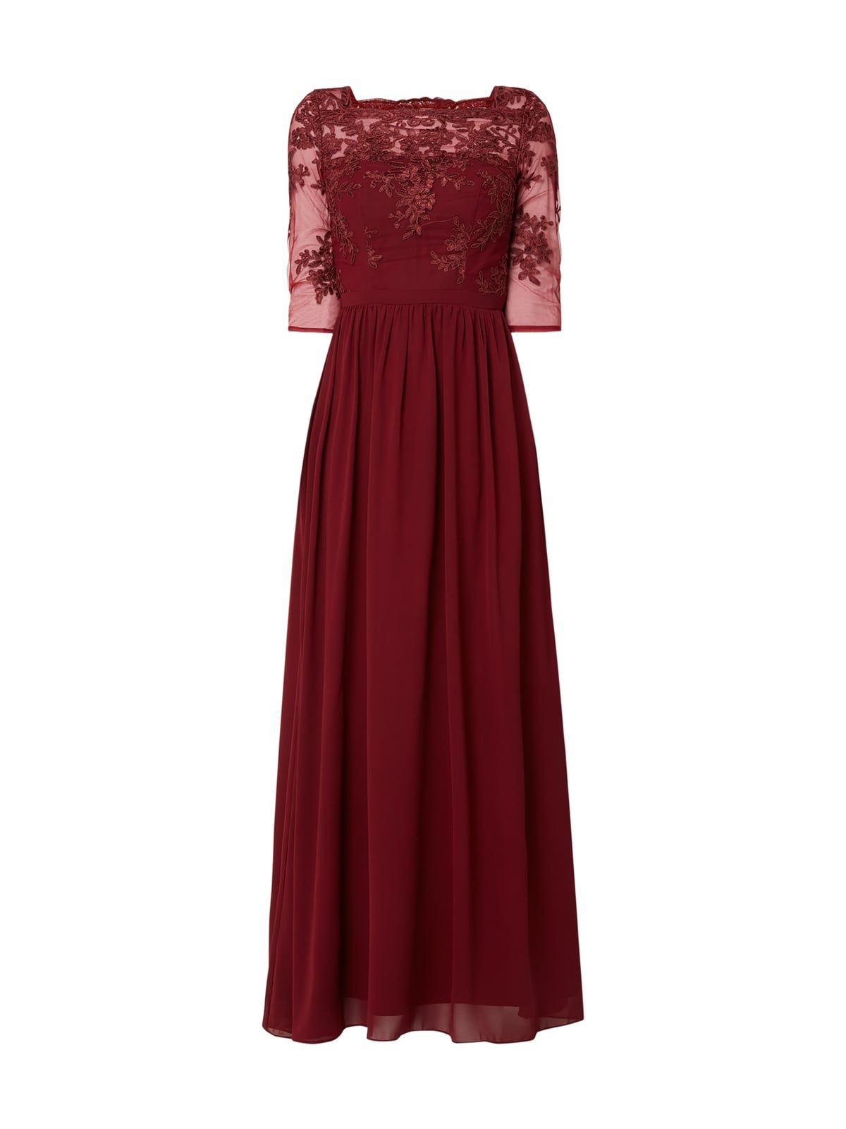 Formal Fantastisch Abendkleid Bordeaux Rot Galerie20 Genial Abendkleid Bordeaux Rot für 2019
