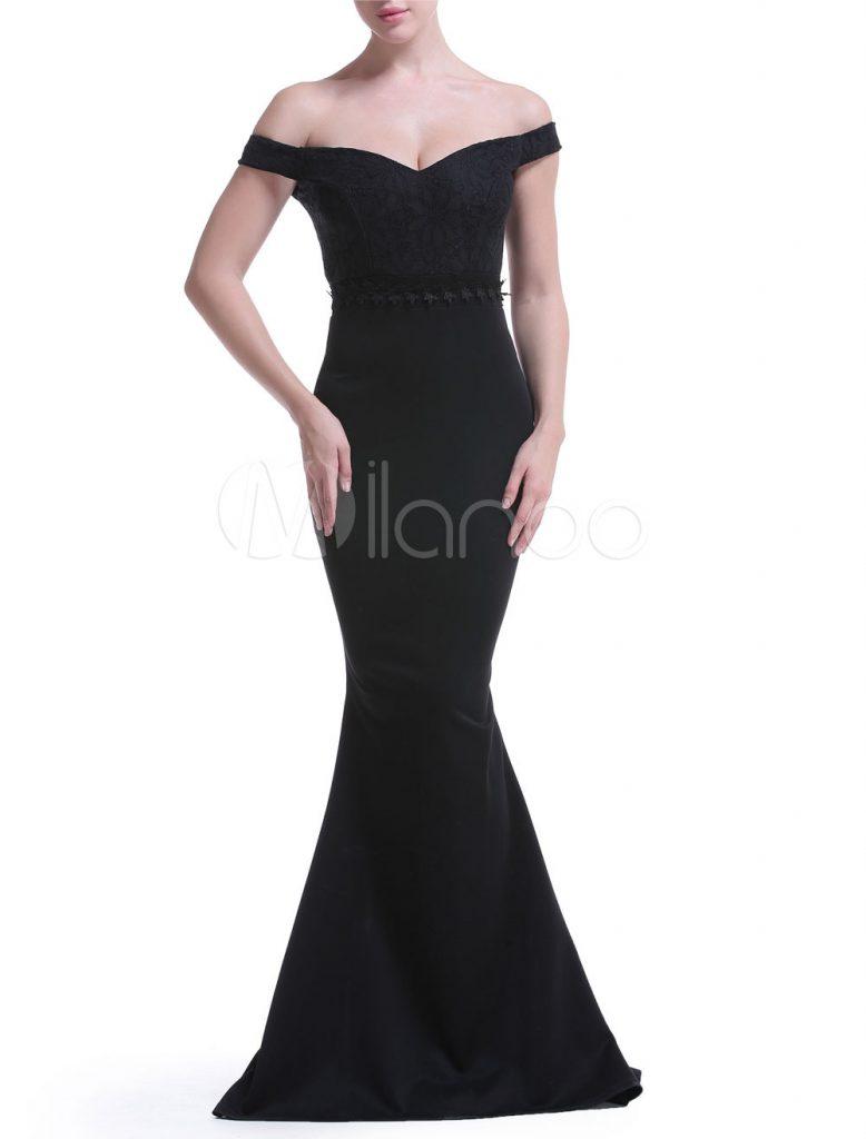 9 Erstaunlich Abendkleid Carmen Ausschnitt Lang Bester Preis