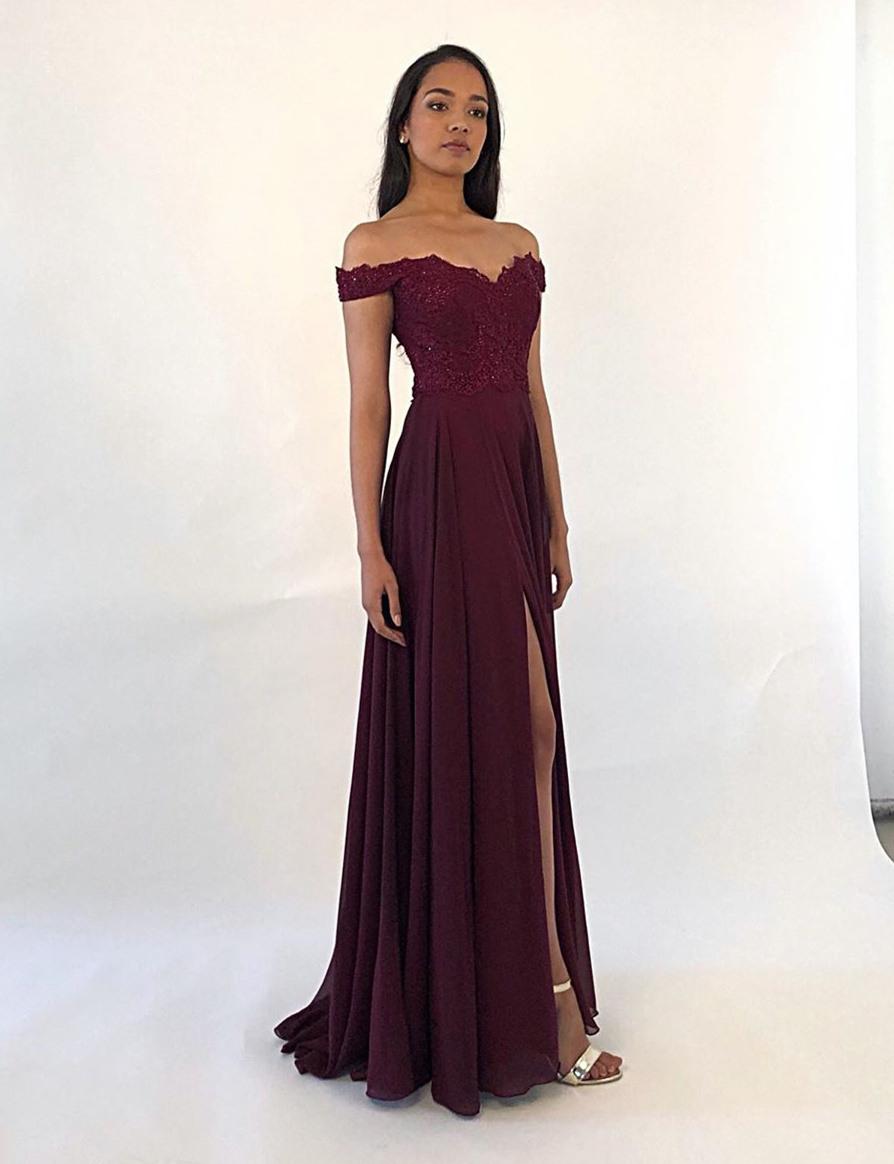 13 Leicht Abendkleid Carmen Ausschnitt Lang ÄrmelFormal Coolste Abendkleid Carmen Ausschnitt Lang Bester Preis