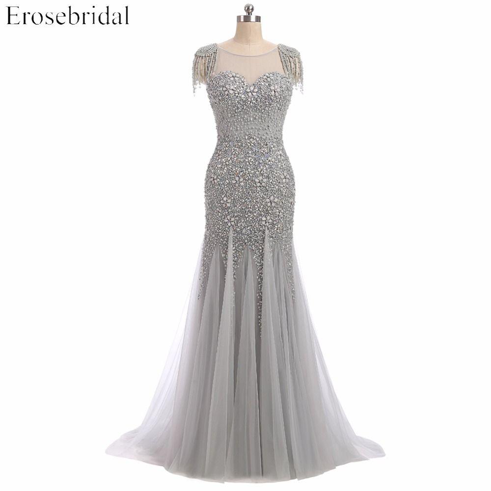 Perfekt Abendkleid Perlen BoutiqueFormal Luxus Abendkleid Perlen Bester Preis