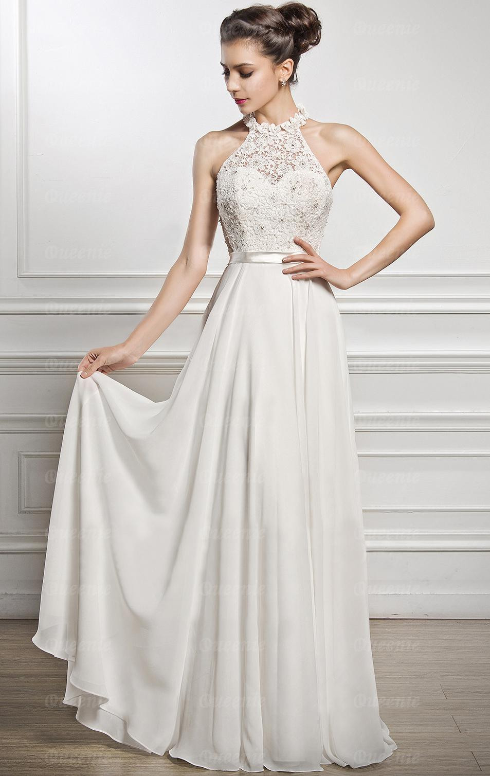 Formal Perfekt Abendkleider Weiß Ärmel20 Spektakulär Abendkleider Weiß Boutique