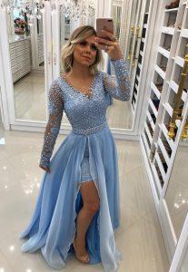 Designer Einzigartig Schicke Abend Kleider ÄrmelAbend Luxus Schicke Abend Kleider für 2019