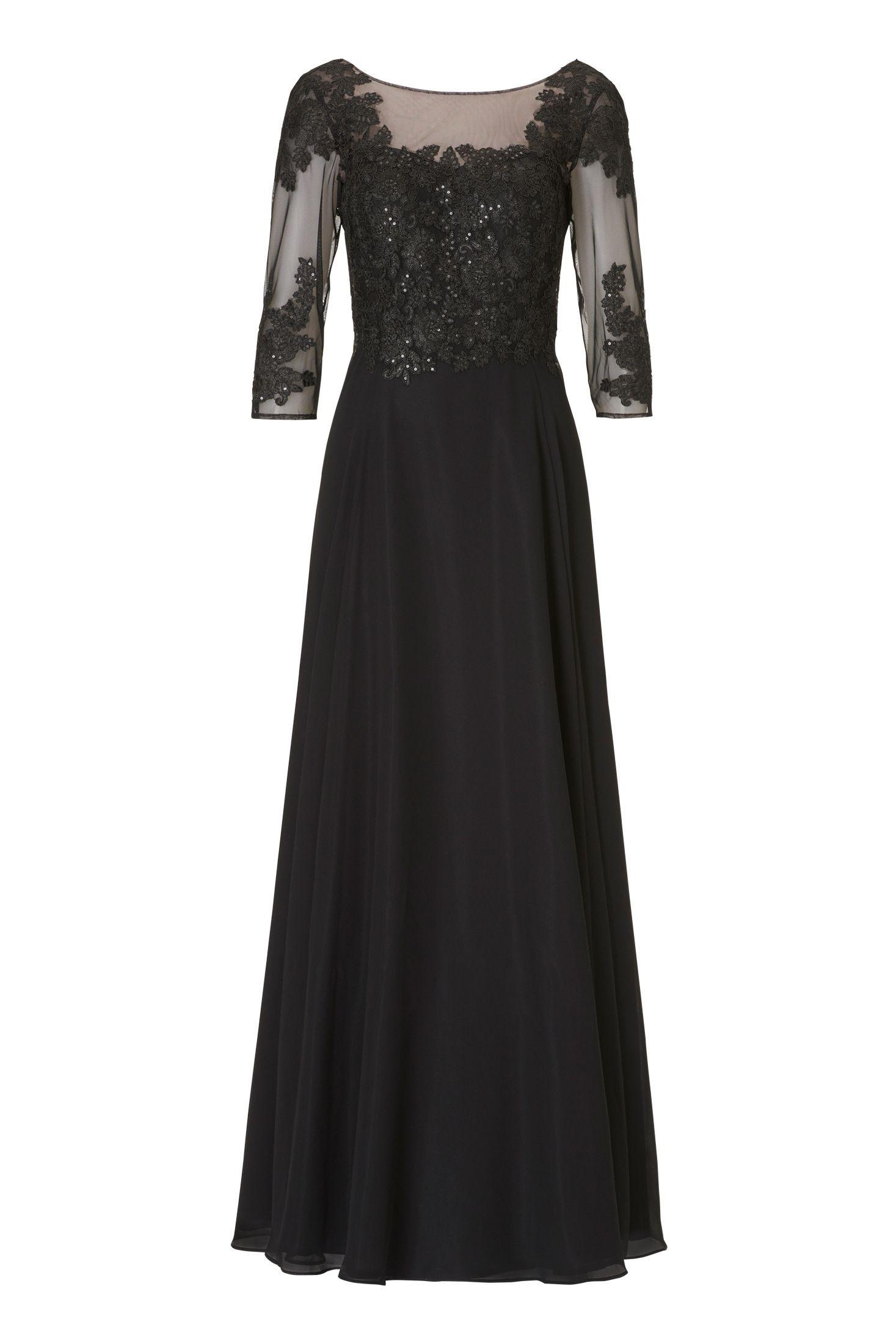 Formal Fantastisch Schwarzes Abend Kleid Bester PreisAbend Perfekt Schwarzes Abend Kleid Stylish