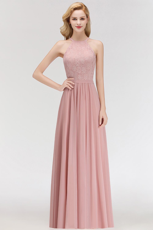 17 Schön Kleid Lang Rosa SpezialgebietAbend Leicht Kleid Lang Rosa Spezialgebiet