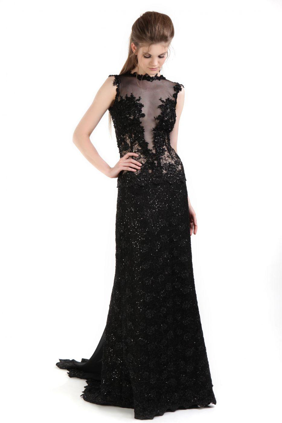 10 Perfekt Abendkleid Tiefer Ausschnitt Ärmel - Abendkleid