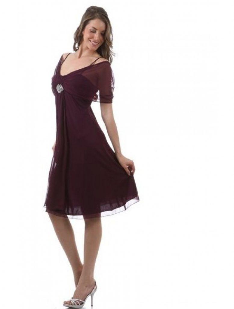 13 Ausgezeichnet Elegante Damen Kleider Knielang ÄrmelFormal Großartig Elegante Damen Kleider Knielang Stylish